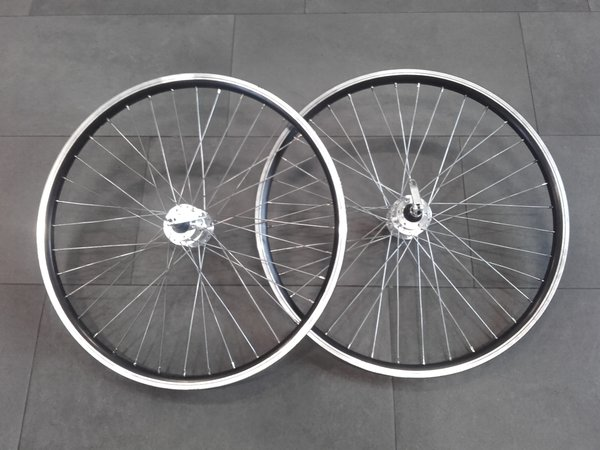 24 Promax/Crosser Disc/V-brake 9mm F/R Wheelset