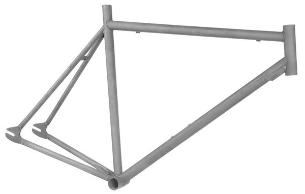 700C 55cm Raw Custom Single / Fixie Frame / Сингъл-Фикси Къстъм Рамка 55см