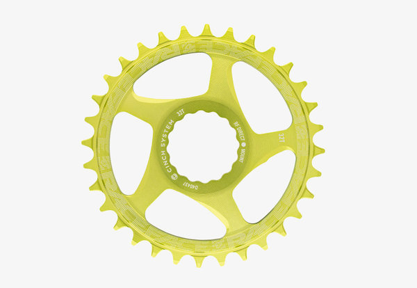 28t Narrow Wide Cinch 1x Green Direct Mount Chainring  / Плоча Директен Монтаж 28 Зъба