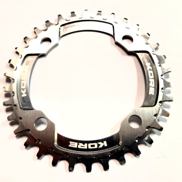 34t Stronghold Narrow Wide Silver Chainring / Кръгла Алуминиева Плоча 34 зъба