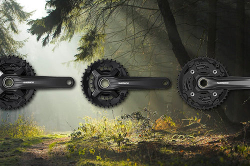 Shimano Hollowtech II в бюджетните серии Курбели
