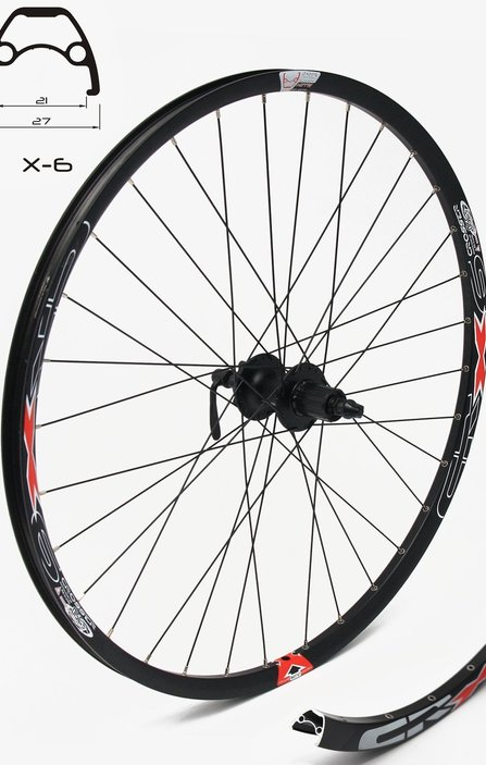 28 SHIMANO/Crosser Disc 9mm Rear Wheel / Задна Капла