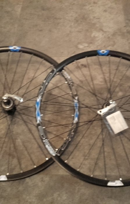 26 Shimano/Crosser Disc CL QR Wheelset / Капли Диск Комплект