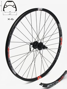 29 SHIMANO/Crosser Disc 9mm Rear Wheel / Задна Капла 9 Ос
