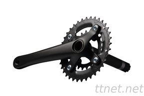 36-22t Samox Fat Bike Crankset 170mm / Фат Байк Курбели с Куха Ос