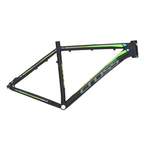 "27,5"" CROSS GRX DB 2019  Allu Frame L 46cm Black-Green / Алуминиева Рамка"