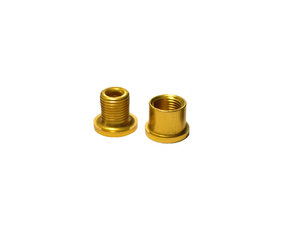 7mm Venzo Allu Gold Chainring Bolt & Nut / Болт & Гайка за Плоча