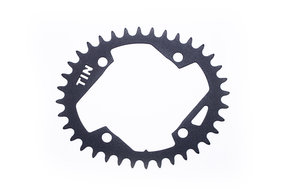 36t Oval  Chainring TIN CYCLES 9sp Single / Плоча сингъл и 9 скорости