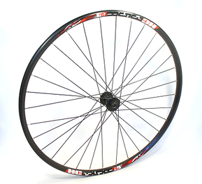 700C 12mm Thru Axle Shimano - Jetset 32h Disc Front Wheel / Предна Капла 12мм Ос