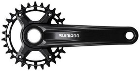 30t Deore FC-M5100-1 170mm Cranks / Курбели Една Плоча Narrow-Wide
