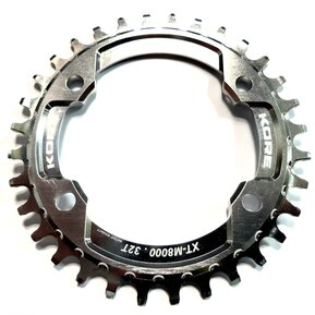 32t Stronghold Narrow Wide Silver Chainring / Кръгла Алуминиева Плоча 32 зъба