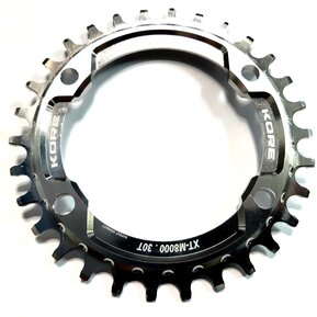 30t Stronghold Narrow Wide Silver Chainring / Кръгла Алуминиева Плоча 30 зъба