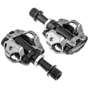 PD-M540 Silver Clipless SPD MTB Pedals / Педали с Автомати и Парчета