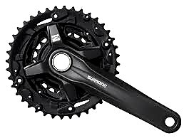 36-22t Acera FC-MT210-B2 170mm Hollowtech II 2x9 Crankset / Курбели 2 Плочи Куха Ос