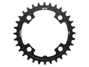 30t Round & Narrow-Wide SunRace Allu Chainring 96 BCD / Кръгла Алуминиева Плоча